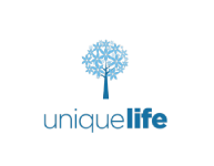 Unique life logo